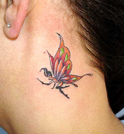 tatuagem no pescoço para mulheres