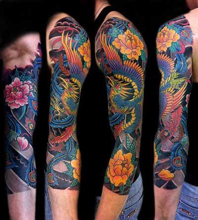 tatuagens de fênix