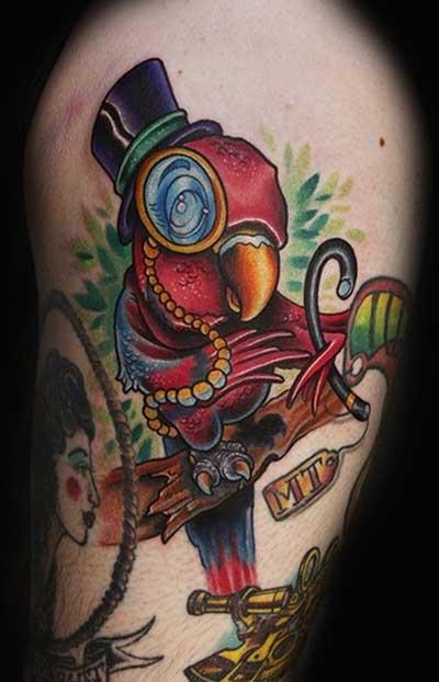 Imagens de Tatuagens de Papagaio