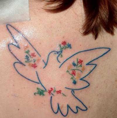 Dicas de Tattoos de Pomba