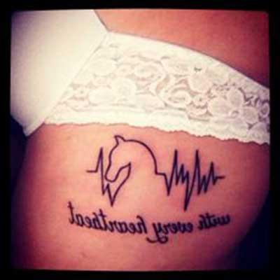 desenhos para tatuagens de cavalo