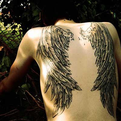imagens de tatuagens de asas