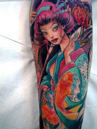 Tatuagens 3D - Centenas de fotos de tatuagens 3d para você