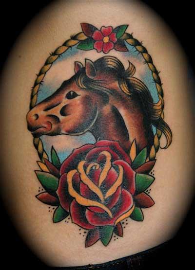 tatuagens de cavalo em fotos