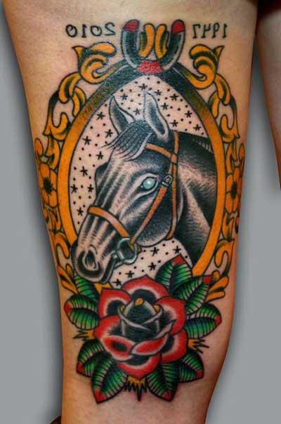 imagens de tatuagens de cavalo