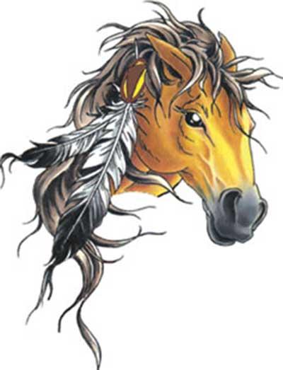 fotos de tatuagens de cavalo