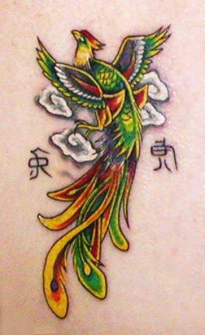 44 Desenhos Para Tatuagens De Fênix Na Barriga Na Perna