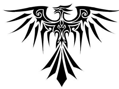 44 Desenhos Para Tatuagens De Fenix Na Barriga Na Perna