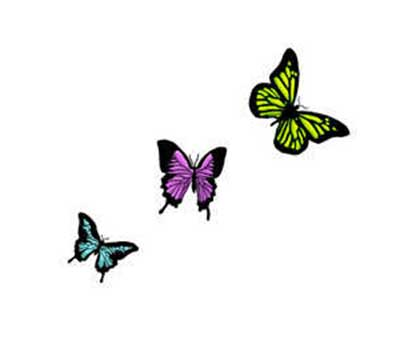 desenhos de tatuagens de borboletas