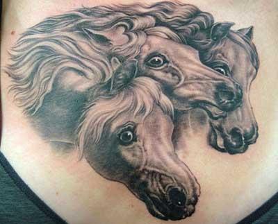 tatuagens de cavalo