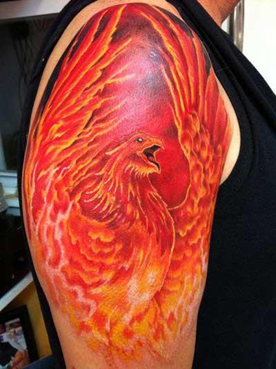 fotos de tatuagem no braço