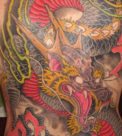 o que significa tatuagens de dragão