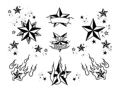 desenhos de tatuagens de estrelas