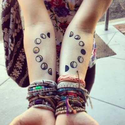 imagens de tatuagens de lua