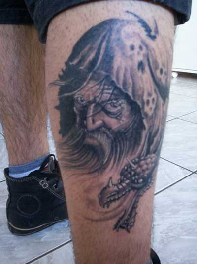 feita na perna