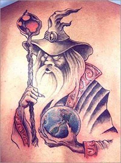 fotos de tatuagens de mago