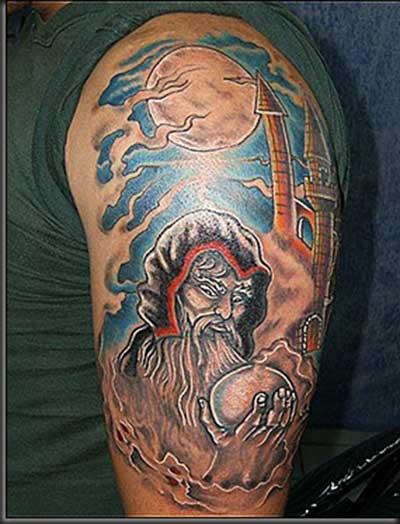 dicas de tatuagens de mago