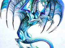 tatuagem de dragão