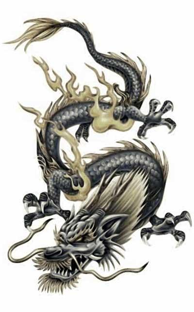 dica de tatuagem de dragão