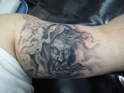 tattoo de mago