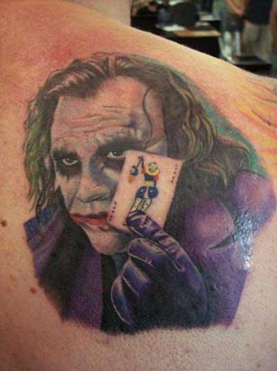 tatuagem do coringa
