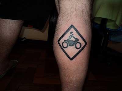 tatuagens de moto