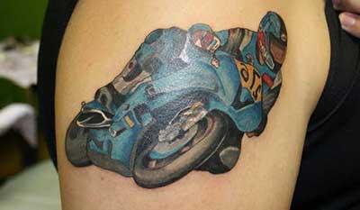 tatuagens de motos