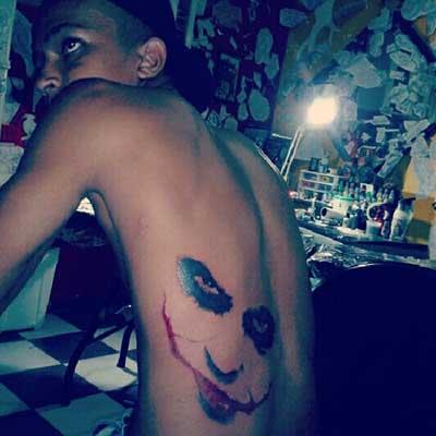 tatuagens de coringa