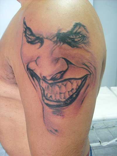 tattoos de coringa
