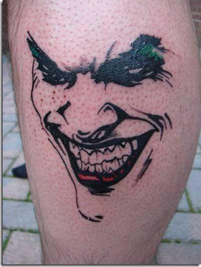 desenhos de tatuagens de coringa