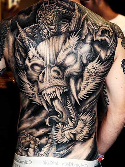 desenhos de tatuagens de dragão