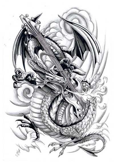 tatuagens de dragão