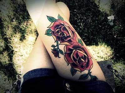 fotos de tatuagens de flores
