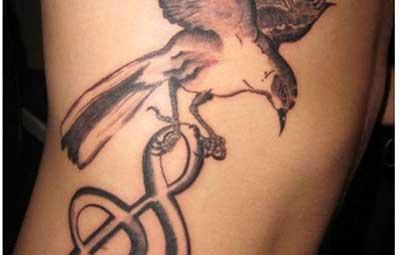 tattoo de música