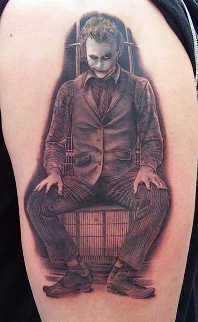 dicas de tatuagens de coringa