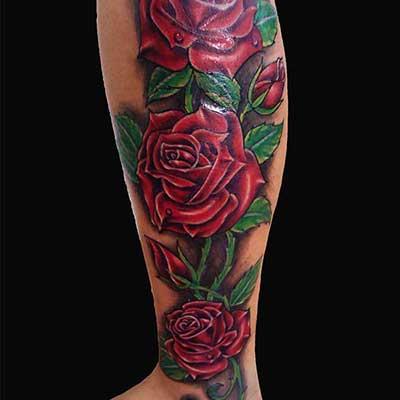 dicas de tatuagens de flores