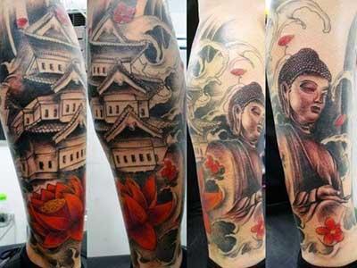 fotos de tatuagens orientais