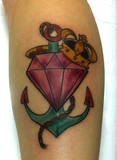 imagenes de tatuagens de diamantes 2