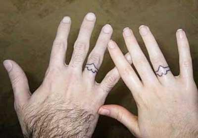 30 Tatuagens Para Namorados Iguais Frases Pulso Costela