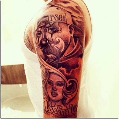 tatuagens de palhaços