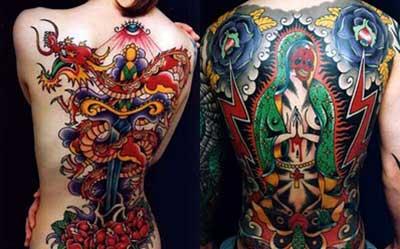 Tatuagem Japonesa vermelho