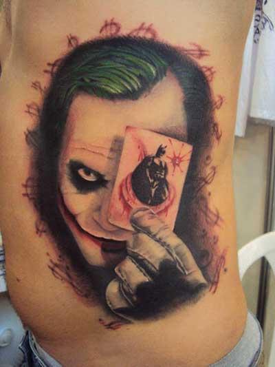 dicas de tatuagens de palhaços
