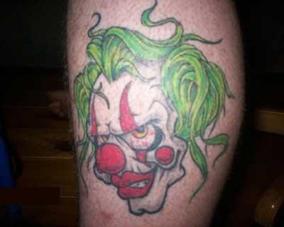 fotos de tatuagens de palhaços