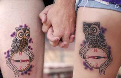fotos de tatuagens de namoro