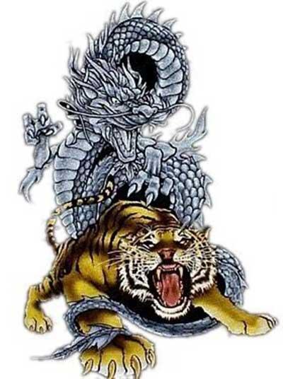 40 Tatuagens De Tigres Nas Costas Orientais No Braco