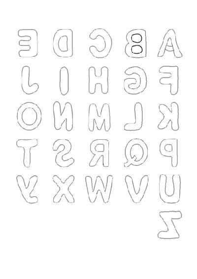 letras bem desenhadas
