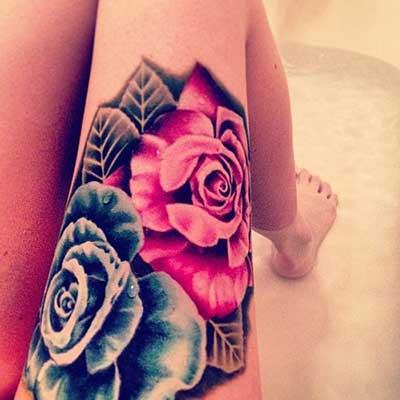 imagens de tatuagens de rosas