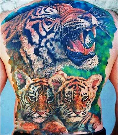dica de tatuagem de tigre