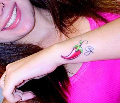 fotos de tatuagens de pimenta