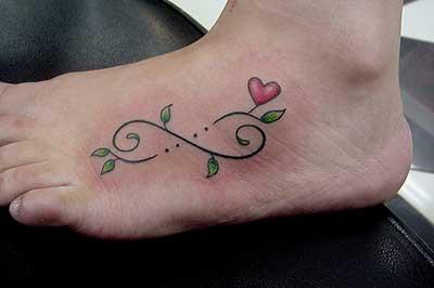 30 tatuagens de infinito com nome com pena no brao para mulheres tatuagens de casal thecheapjerseys Image collections